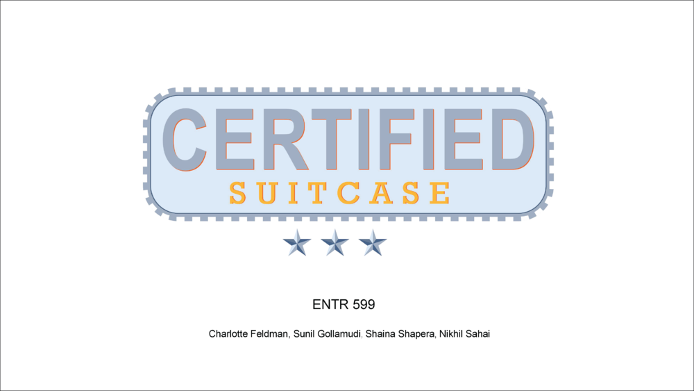 Certified Suitcase   Design Thinking Application