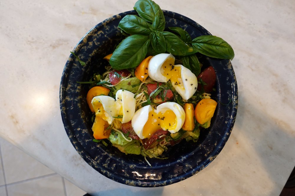 Here's a wonderful look at this dish with egg protein.