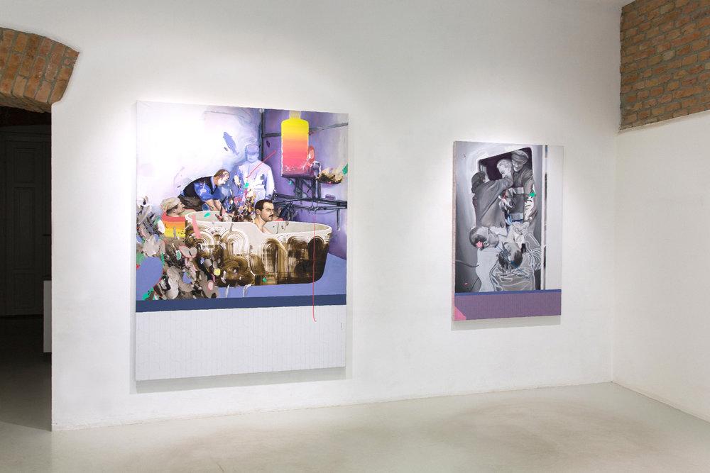 Rückkehr was a solo exhibition at Herminengasse1 in Vienna.