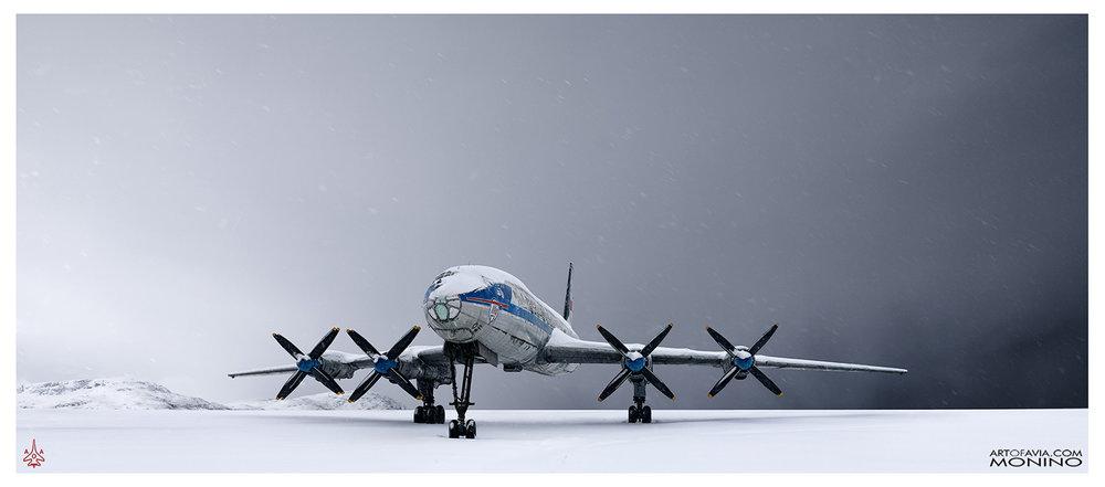 Ilyushin Il-114 Art of Avia Central Air Force Museum Monino