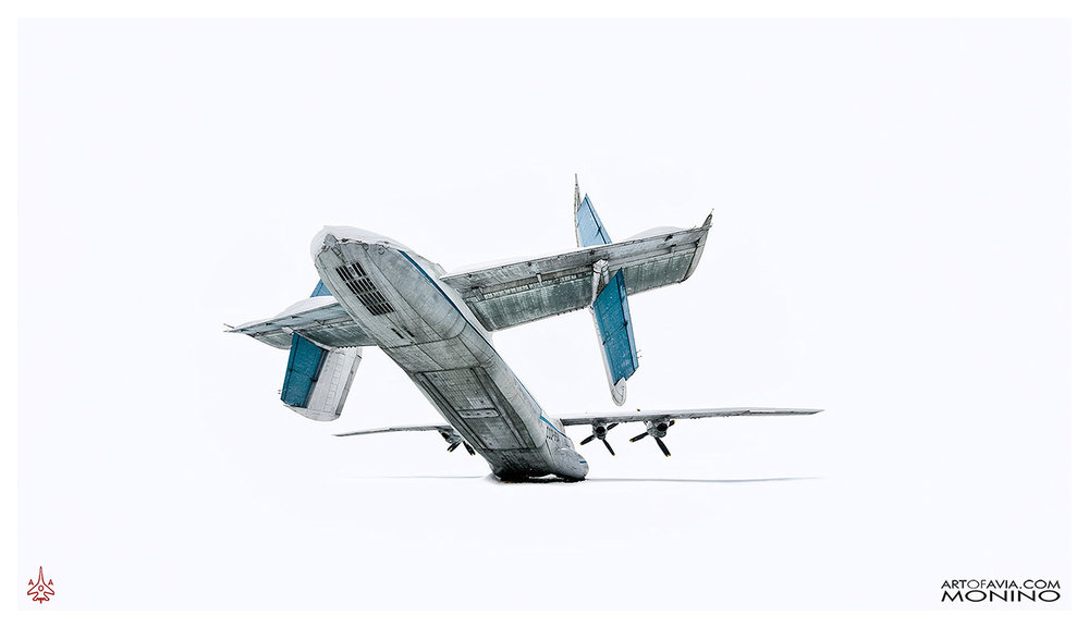 Antonov An-22 Art of Avia Central Air Force Museum Monino