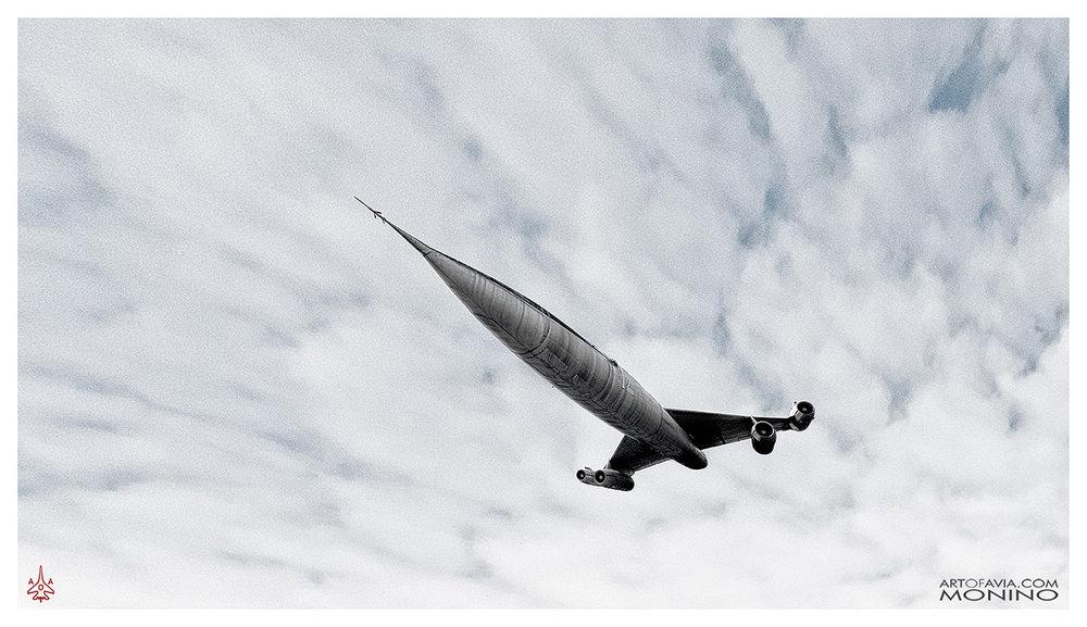 Myasischev M-50 Flying Art of Avia Central Air Force Museum Monino