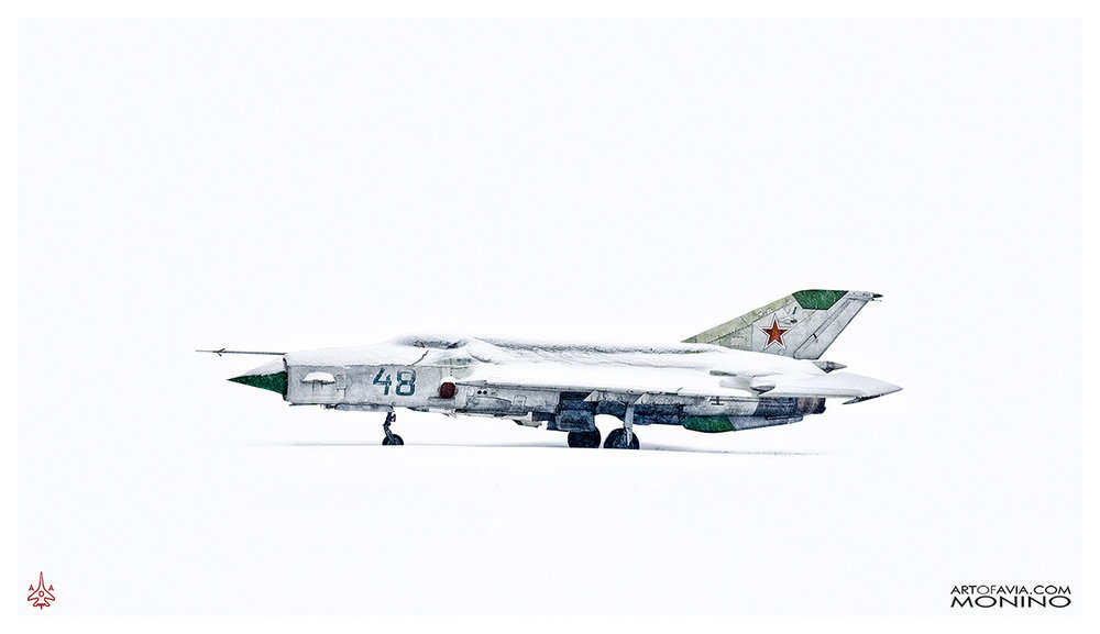 Mikoyan-Gurevich MiG-21PFS Art of Avia Central Air Force Museum Monino