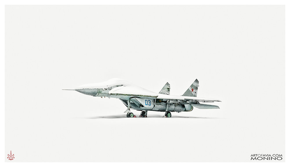 Mikoyan-Gurevich MiG-29 Art of Avia Central Air Force Museum Monino