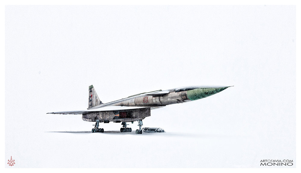 Sukhoi T-4 Sotka Project 100 - Art of Avia - Central Air Force Museum - Monino