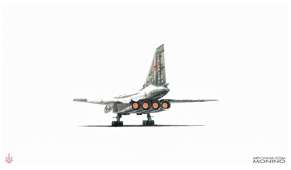 Tupolev T-4 Sotka Project 100 rear Art of Avia Central Air Force Museum Monino
