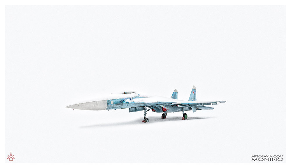 Sukhoi Su-27M Su-35 T-10M Art of Avia Central Air Force Museum Monino