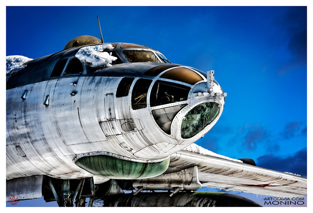 Tupolev Tu-16 Art of Avia Central Air Force Museum Monino by Ken