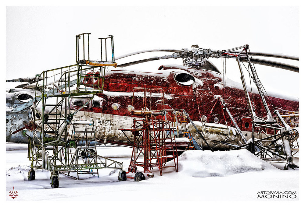 Mil Mi-6 POZh Art of Avia Central Air Force Museum Monino