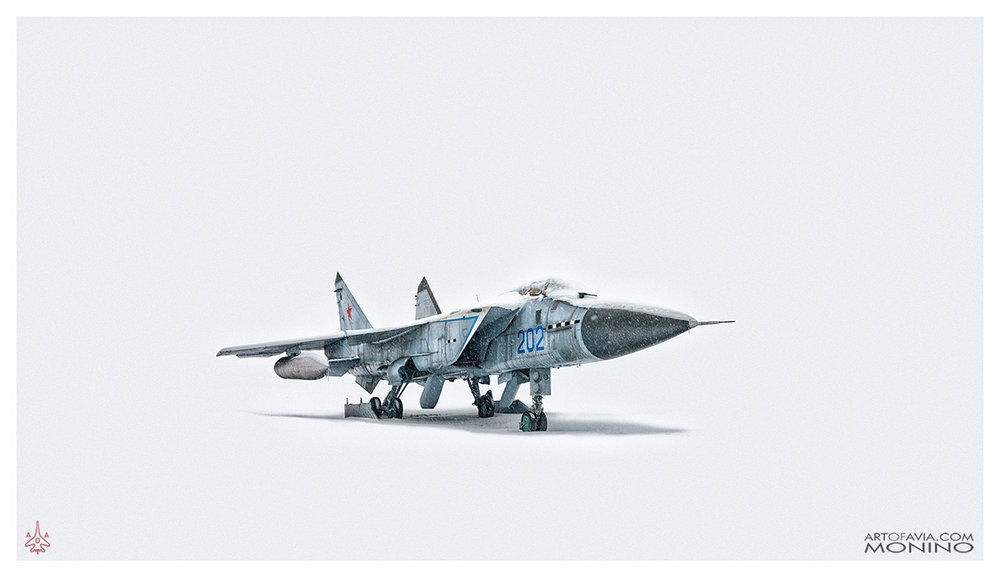 Mikoyan-Gurevich MiG-31 Art of Avia Central Air Force Museum Monino