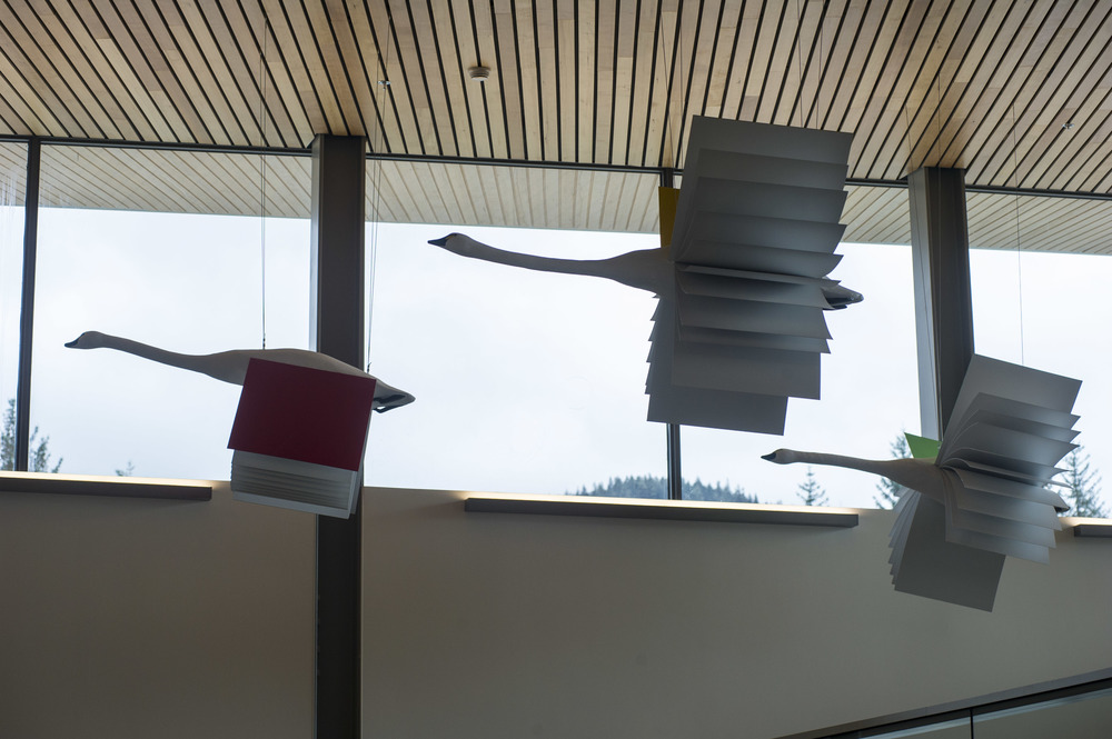 """""""Flight of Imagination"""" Mendenhall Library"""