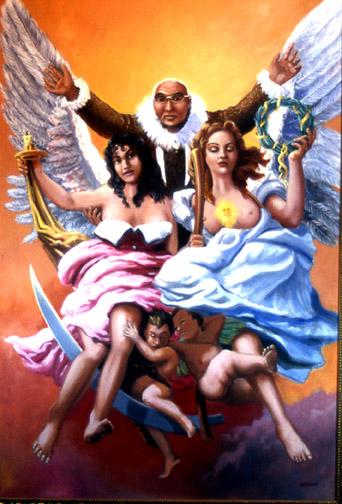 """""""Ascension of Kivetoruk, Time and Glory"""" 4'x6'"""