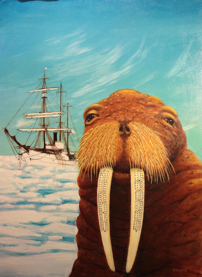 """Cribbage Walrus and the Cutter Bear"""