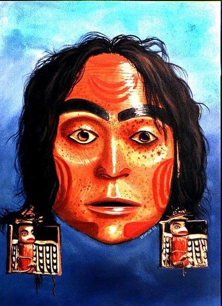 Eagle Woman, Haida