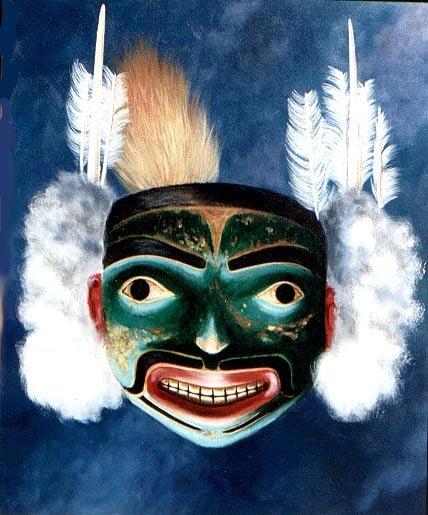 Tlingit frontlet