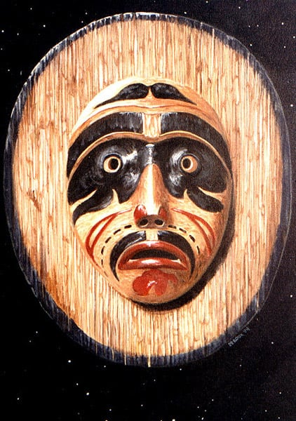 Moon Mask, Bella Coola