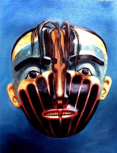 Transformation Mask, Male/Female, Haida