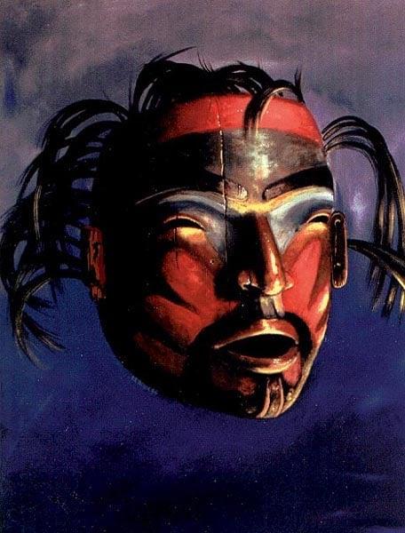Shaman Mask, Tsimsian