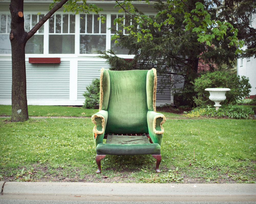 Green Chair, Katie Harwood