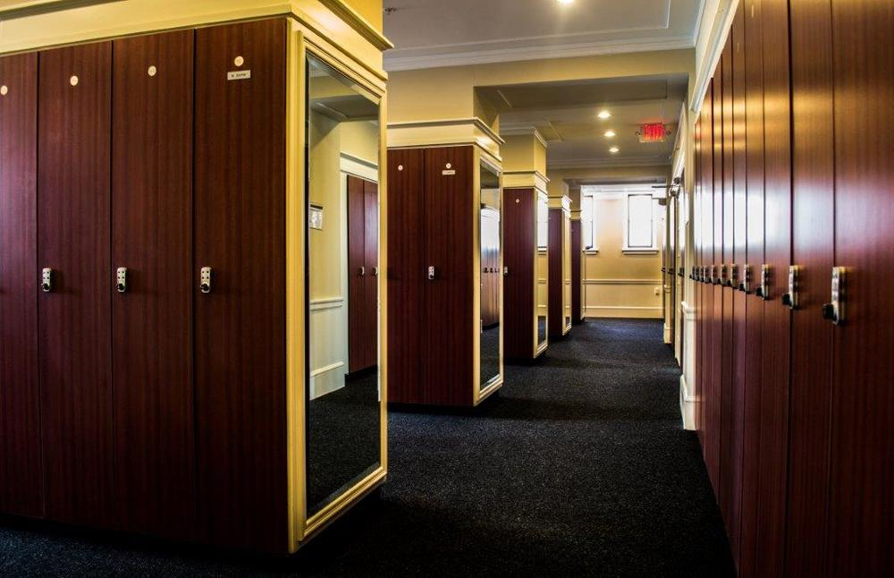 Locker Rooms & Rental -