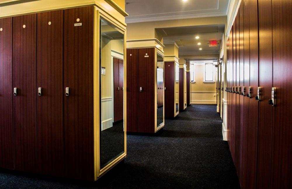 locker room, st. paul athletic club