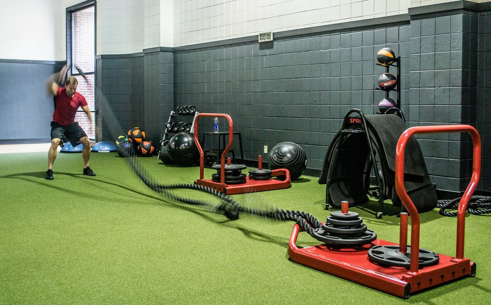 Turf Area Saint Paul Athletic Club Workout Fitness