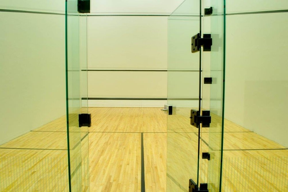 Squash, Handball & Racquetball Courts -