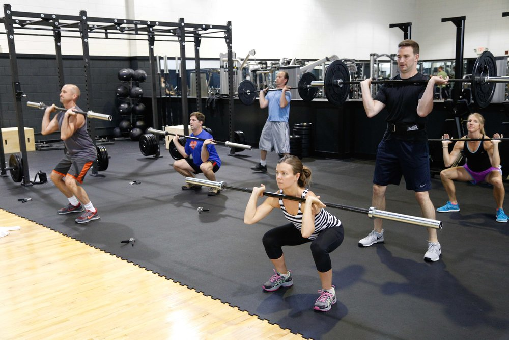 Group Fitness Classes - Barbell Strength, Cycle, PiYo & More!
