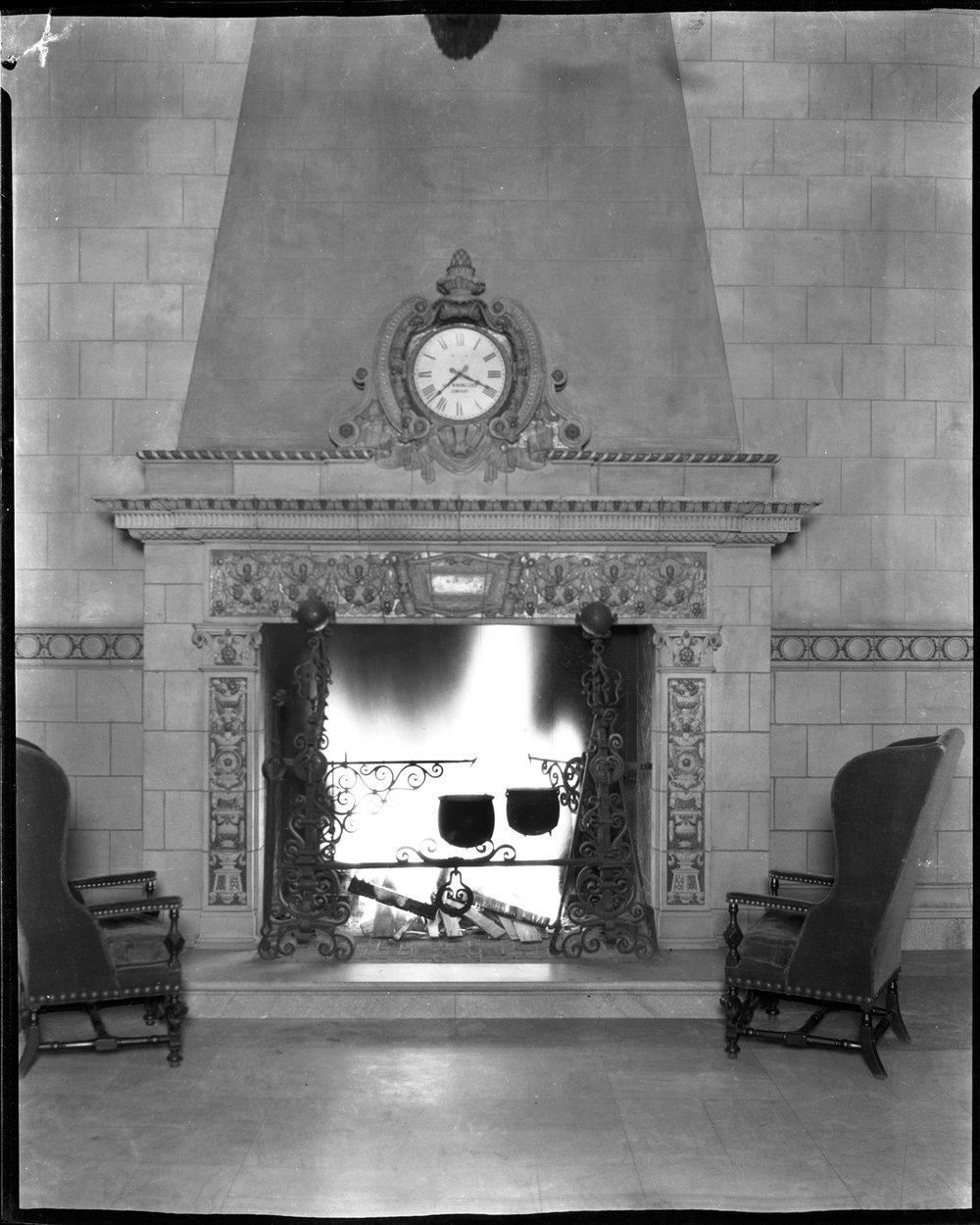 Historic Saint Paul Athletic Club  Downtown Minnesota  Fireplace