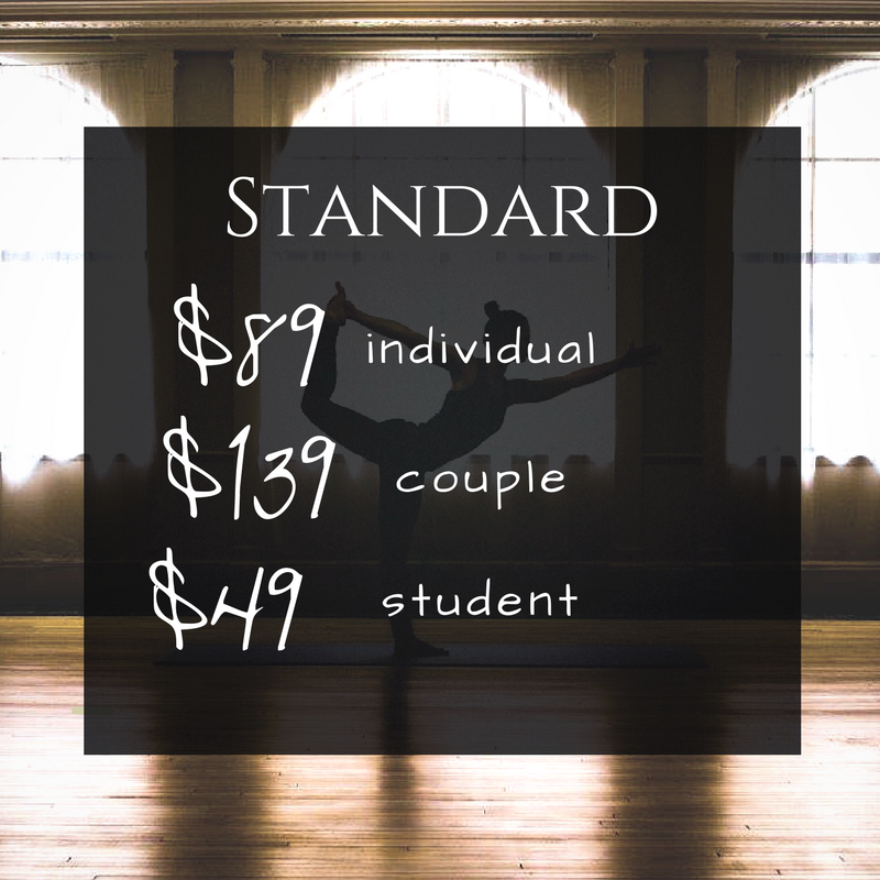 Saint Paul Athletic Club Standard Rates