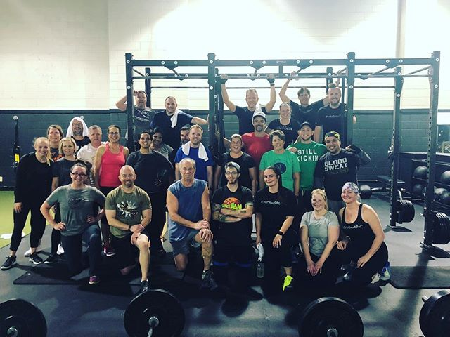 What an awesome turnout for our partnership workout with @stillkickinco . Thanks to all your support we were able to raise money for a great cause and sweat some calories while doing so. We love all our Fusionites and friends for showing up and making it possible. #stillkickin #burpeesplease #tenmillionstations #saintpaulathleticclub #fusionbyspac #stpaulyourebeautiful #workoutforacause