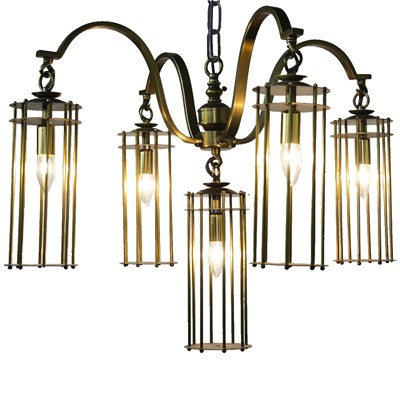 Chandler Chandelier by Noir on Meridian Abbey