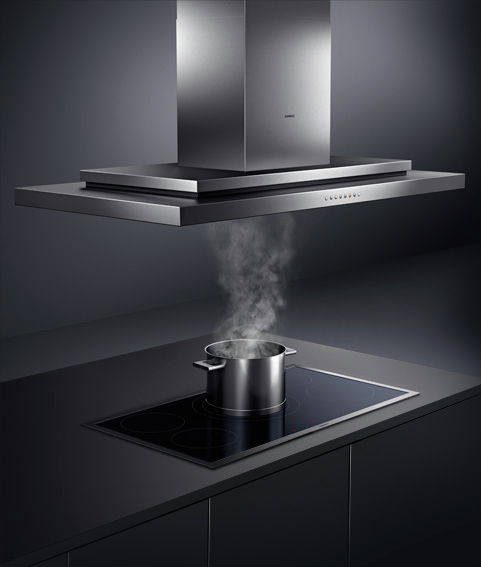 Gaggenau's 200 Series Island Hood on Meridian Abbey