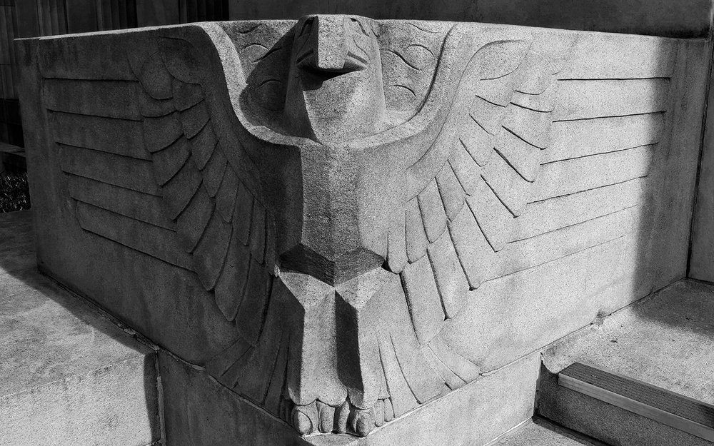 Post Office Eagle, Chattanooga - Meridian Abbey
