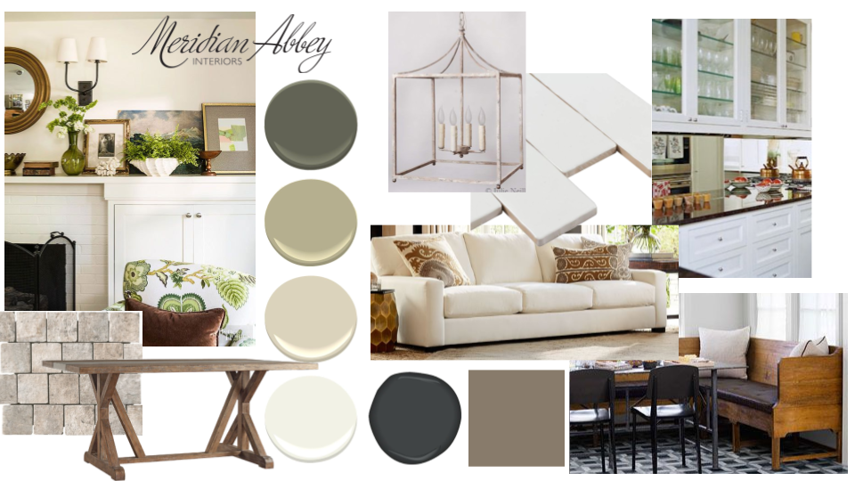 Concept Board Gallery Meridian Abbey Interiors Interior Kitchen