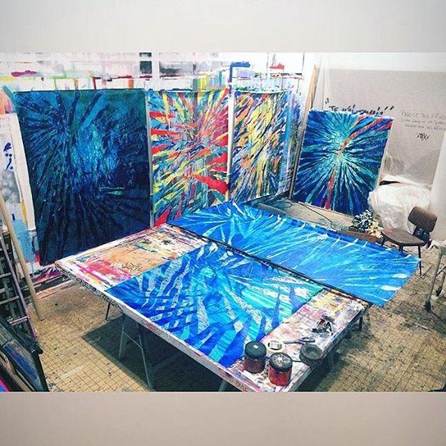 Work in progress @stix913 #artkanoid_gallery #stix #streetart #graffitiart #graffiti #crew #colorful #contemporaryart #artforsale