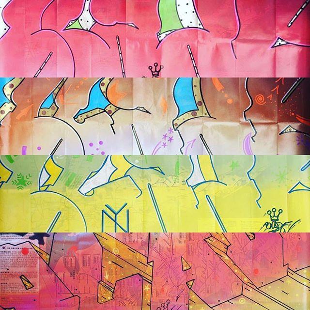 BLADE... #legend #graffiti #newyork #graffitiart #graffitiporn #colorful #art #contemporaryart #artkanoid_gallery #blade