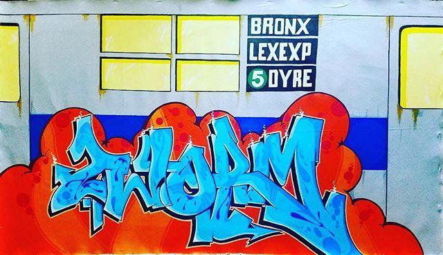 PART ONE ✊ @partonetds #subwayart #graffiti #legend #nyc #graffitiart #canvas #colorful #art #artforsale #tds #style #contemporaryart #dope