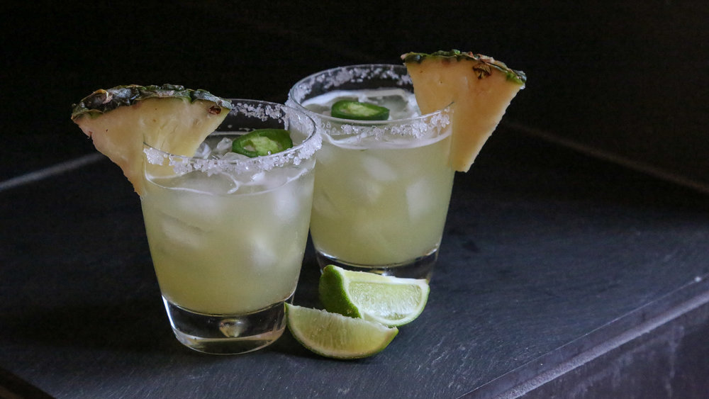 SPICY PINEAPPLE MARGARITA RECIPE