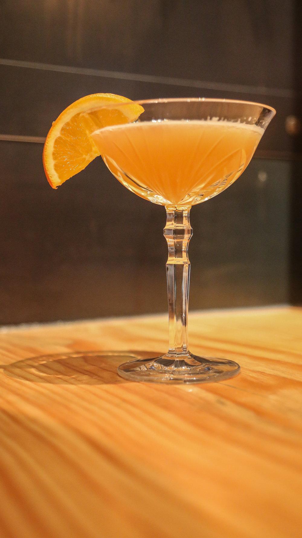 Suicide Car- Hennessy VSPO, Grand Marnier, and Fresh Lemon