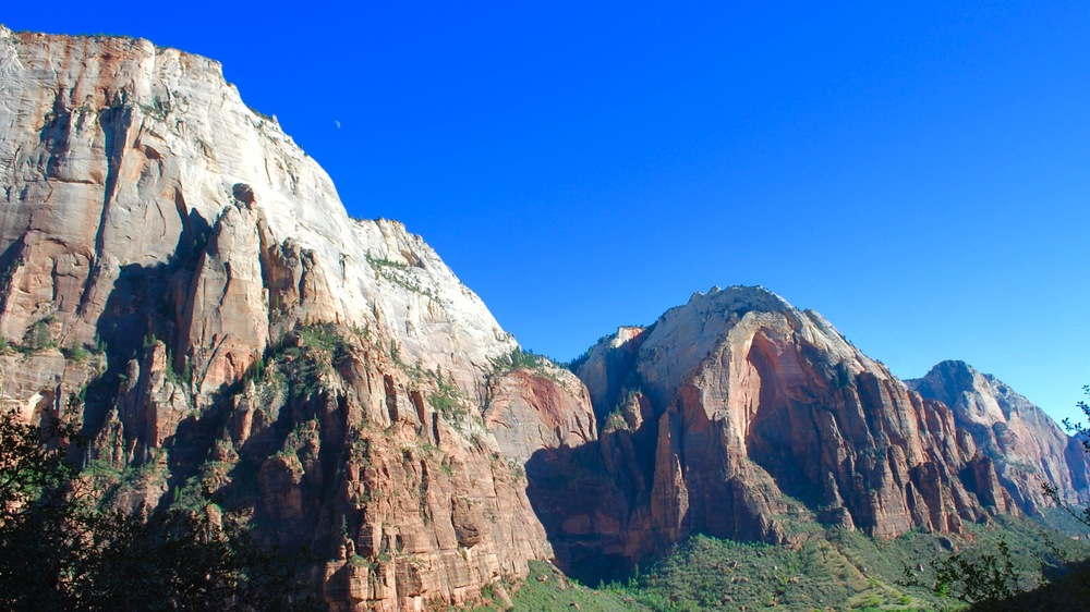 Hiking in Zion National Park, Utah