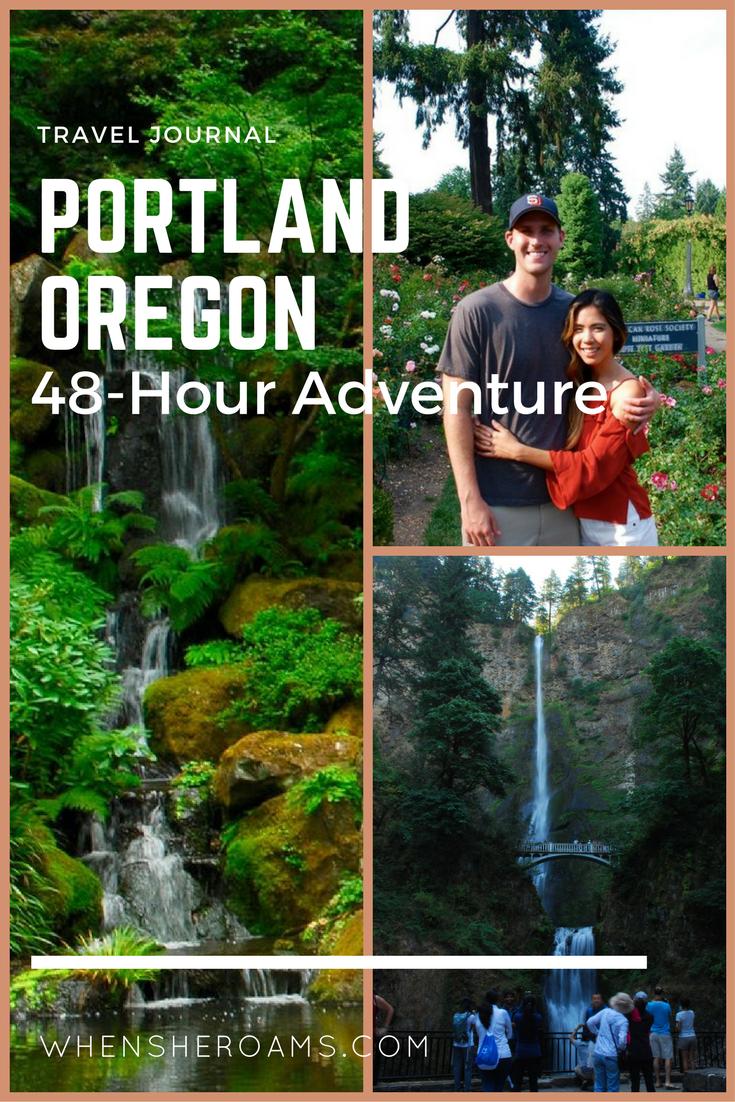 portland oregon 48 hour adventure when she roams