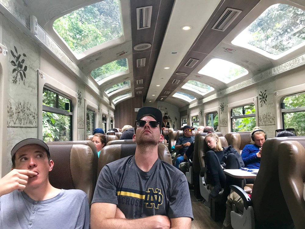 Train to Machu Picchu, Peru Rail, 2017, Photo by Margareth Martin