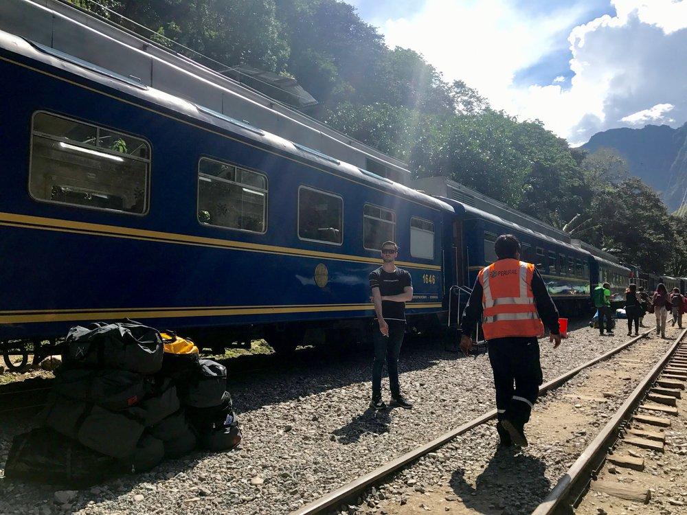 Trains to Machu Picchu, Peru Rail, 2017, Photo by Margareth Martin