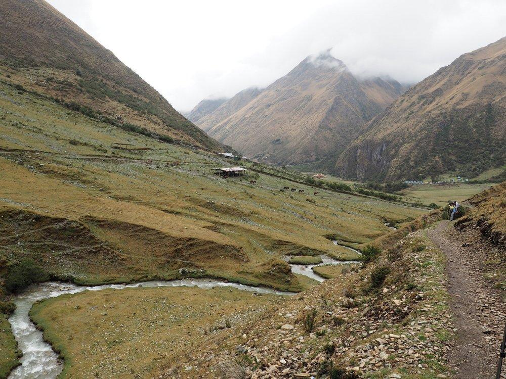 The start of the hike, Salkantay Trek, Peru 2017