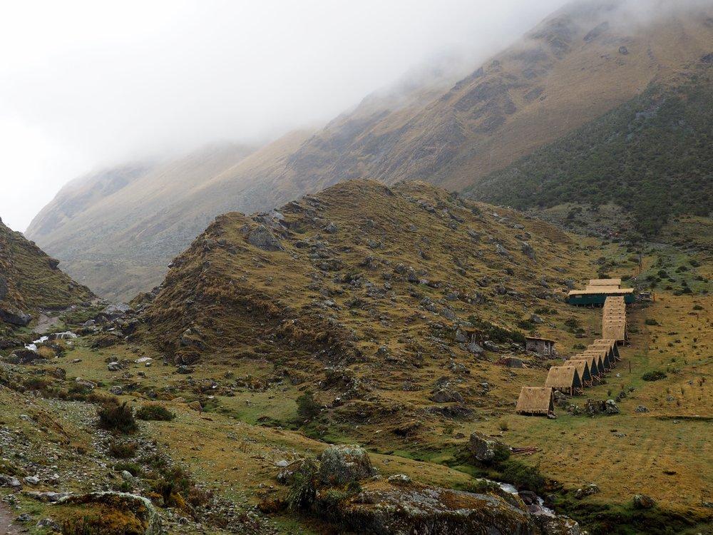 Huts on the Salkantay Trail, Peru 2017