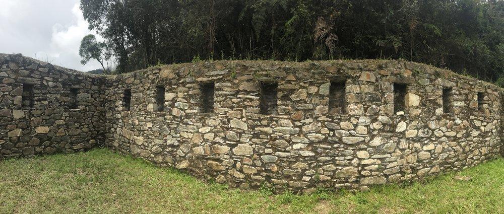 Inca site Llactapata, Salkantay Trek, Peru 2017