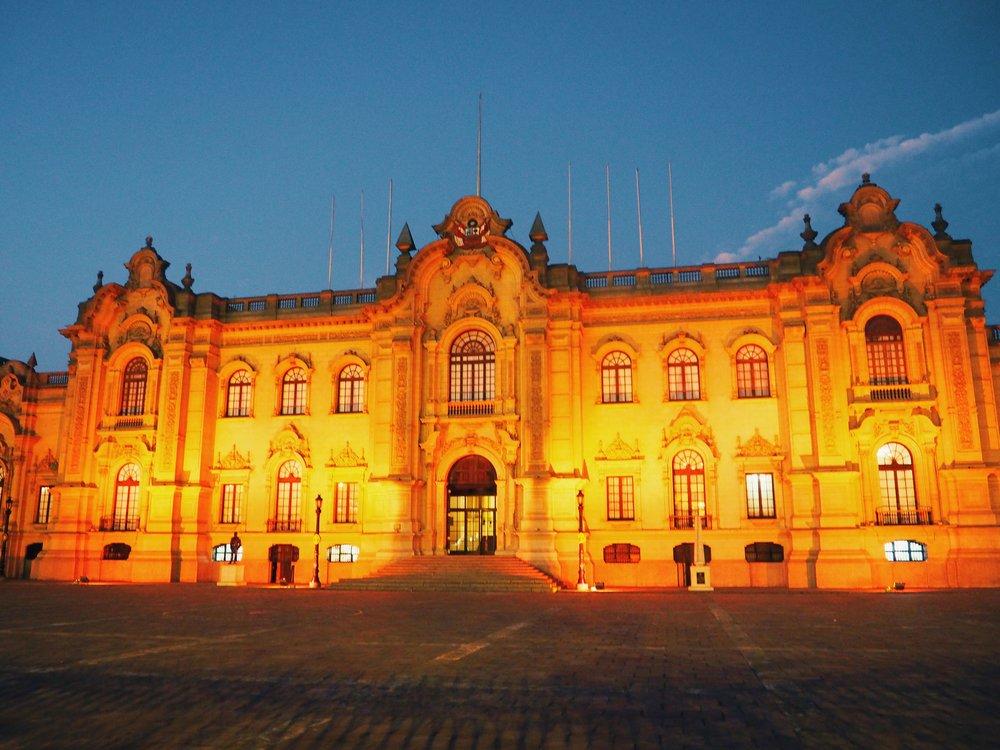Palacio de Gobierno aka House of Pizarro, Lima, Peru 2017