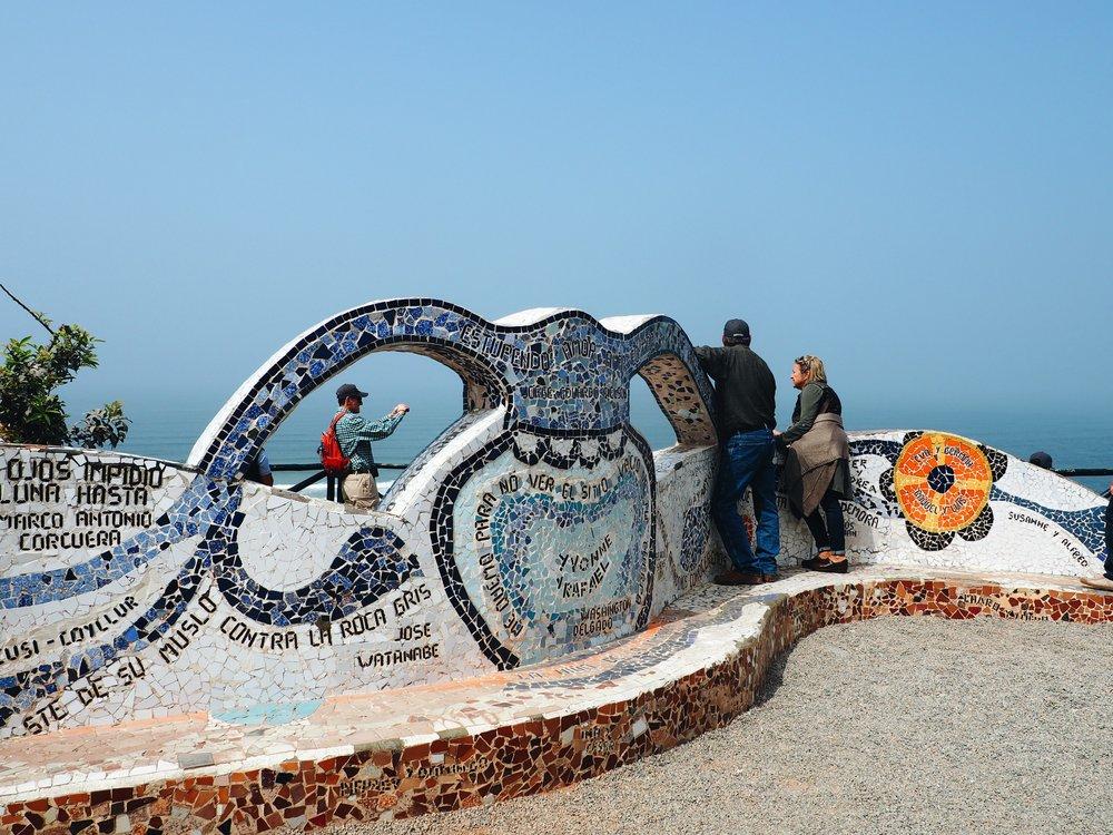 Park of Love, Miraflores Lima, Peru