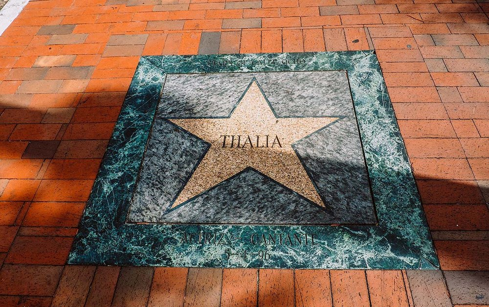 Thalia, Walk of Fame, Little Havana, Miami, FL.
